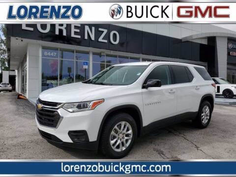 2019 Chevrolet Traverse for sale at Lorenzo Buick GMC in Miami FL