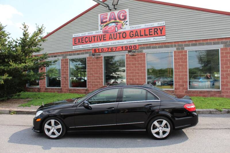 2010 Mercedes-Benz E-Class for sale at EXECUTIVE AUTO GALLERY INC in Walnutport PA