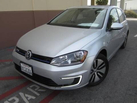 2016 Volkswagen e-Golf for sale at PREFERRED MOTOR CARS in Covina CA