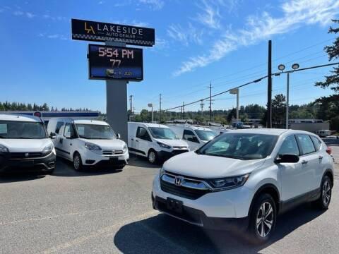 2018 Honda CR-V for sale at Lakeside Auto in Lynnwood WA