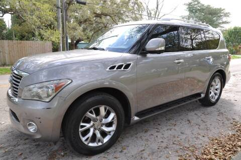 2011 Infiniti QX56 for sale at INTERNATIONAL AUTO BROKERS INC in Hollywood FL