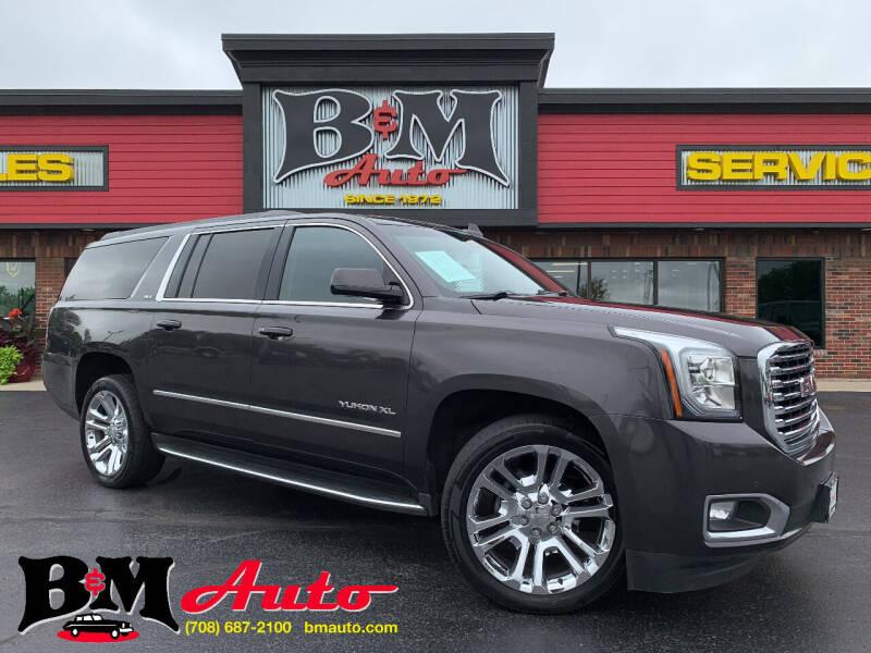2016 GMC Yukon XL for sale at B & M Auto Sales Inc. in Oak Forest IL