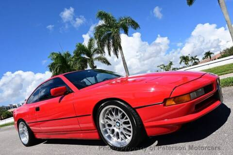 1991 BMW 8 Series for sale at MOTORCARS in West Palm Beach FL