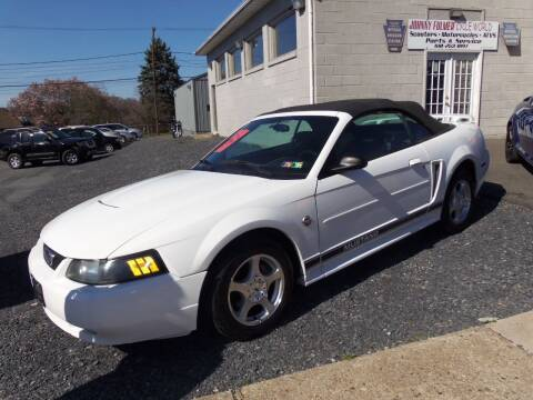2004 Ford Mustang for sale at Fulmer Auto Cycle Sales - Fulmer Auto Sales in Easton PA