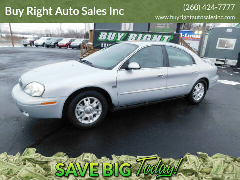 2005 Mercury Sable for sale at Buy Right Auto Sales Inc in Fort Wayne IN