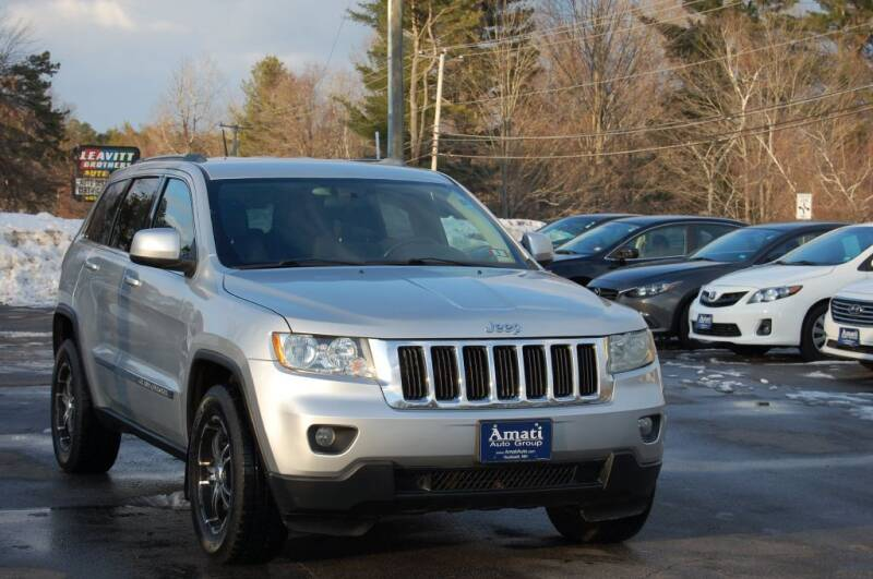 2012 Jeep Grand Cherokee for sale at Amati Auto Group in Hooksett NH