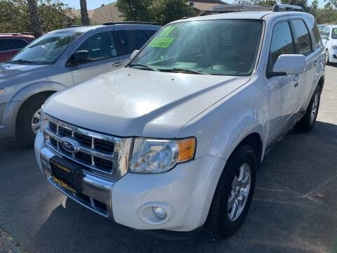 2011 Ford Escape for sale at Contra Costa Auto Sales in Oakley CA