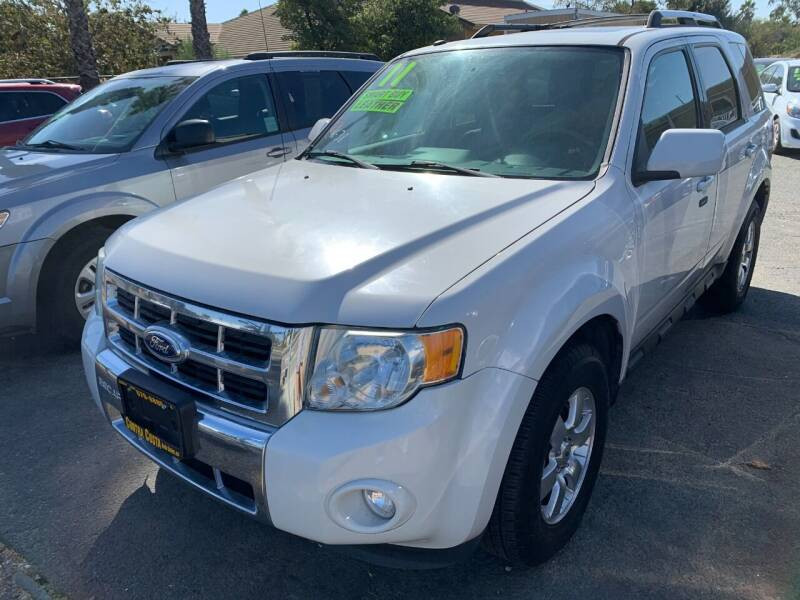 2011 Ford Escape for sale at Contra Costa Auto Sales in Oakley CA