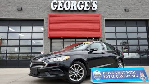 2017 Ford Fusion for sale at George's Used Cars - Pennsylvania & Allen in Brownstown MI