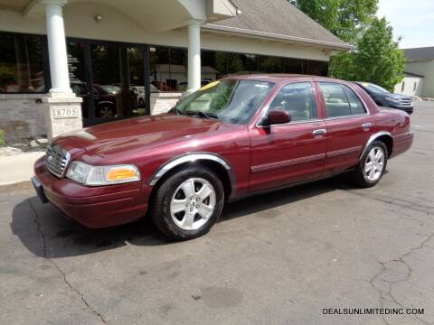 2011 Ford Crown Victoria for sale at DEALS UNLIMITED INC in Portage MI