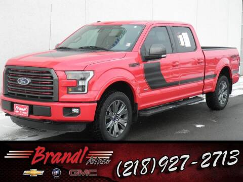 2016 Ford F-150 for sale at Brandl GM in Aitkin MN
