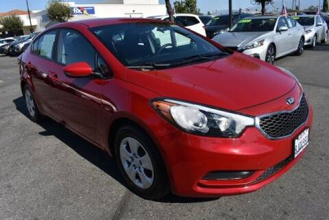 2016 Kia Forte for sale at DIAMOND VALLEY HONDA in Hemet CA