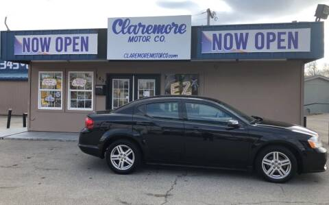 2012 Dodge Avenger for sale at Claremore Motor Company in Claremore OK