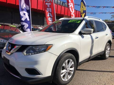 2015 Nissan Rogue for sale at Duke City Auto LLC in Gallup NM