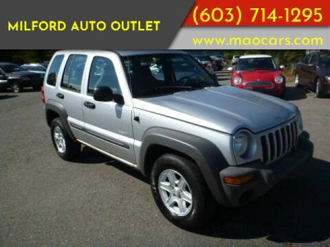 2004 Jeep Liberty for sale at Milford Auto Outlet in Milford NH