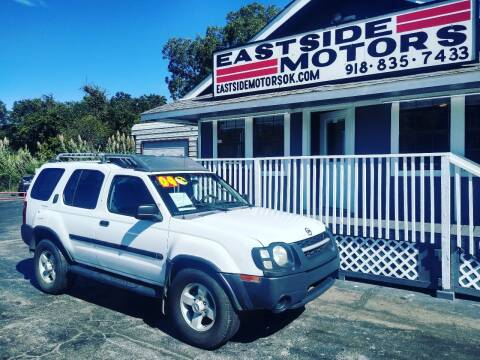 2004 Nissan Xterra for sale at EASTSIDE MOTORS in Tulsa OK