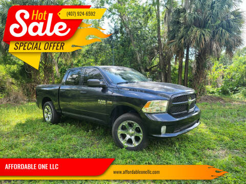 2014 RAM Ram Pickup 1500 for sale at AFFORDABLE ONE LLC in Orlando FL