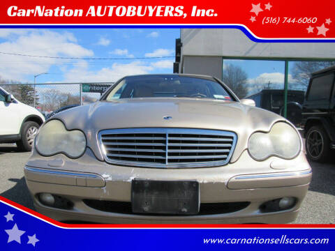 2002 Mercedes-Benz C-Class for sale at CarNation AUTOBUYERS, Inc. in Rockville Centre NY