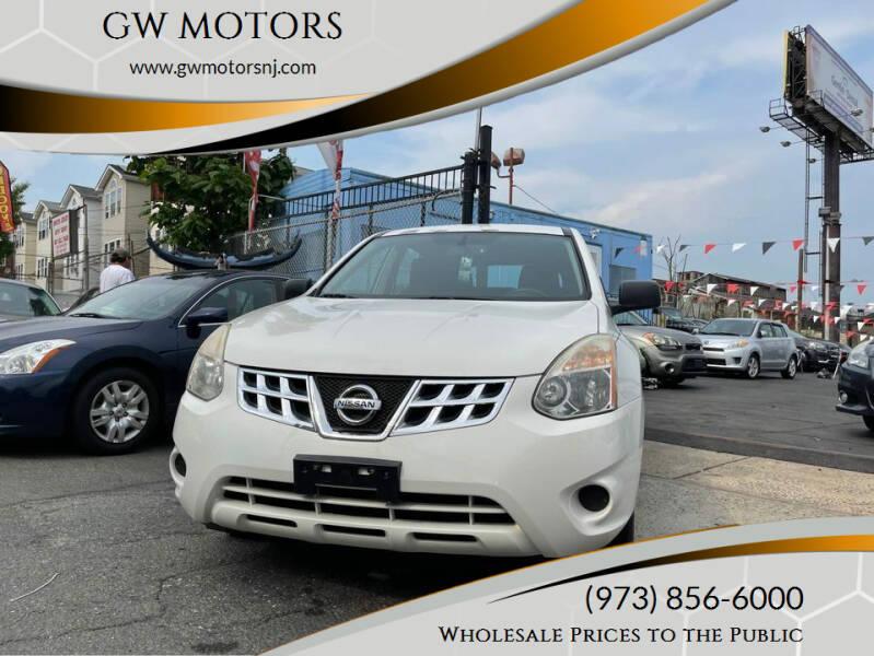 2013 Nissan Rogue for sale at GW MOTORS in Newark NJ