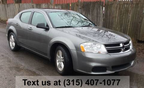 2012 Dodge Avenger for sale at Pete Kitt's Automotive Sales & Service in Camillus NY
