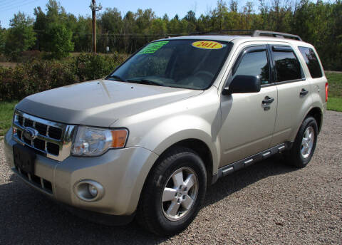 2011 Ford Escape for sale at LOT OF DEALS, LLC in Oconto Falls WI