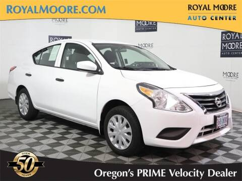 2018 Nissan Versa for sale at Royal Moore Custom Finance in Hillsboro OR