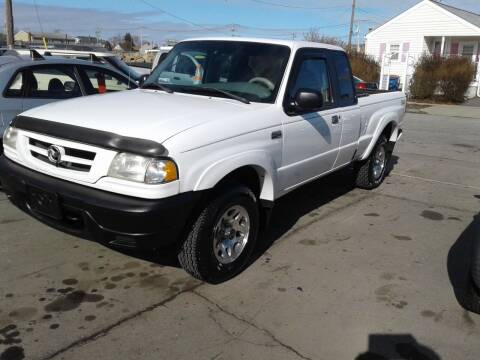 2001 Mazda B-Series Pickup for sale at Nelsons Auto Specialists in New Bedford MA