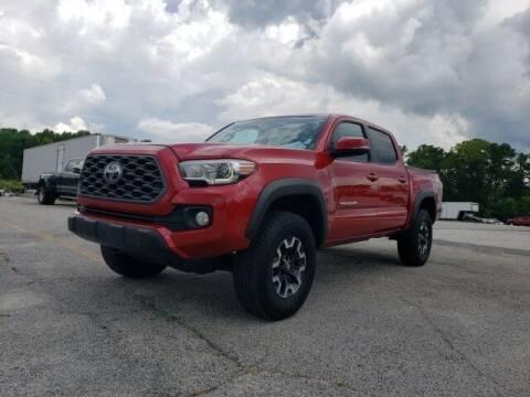 2020 Toyota Tacoma for sale at Hardy Auto Resales in Dallas GA