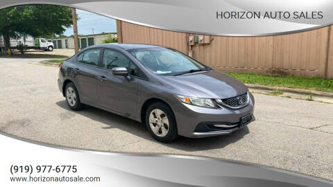 2015 Honda Civic for sale at Horizon Auto Sales in Raleigh NC