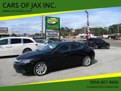 2017 Acura ILX for sale at CARS OF JAX INC. in Jacksonville FL