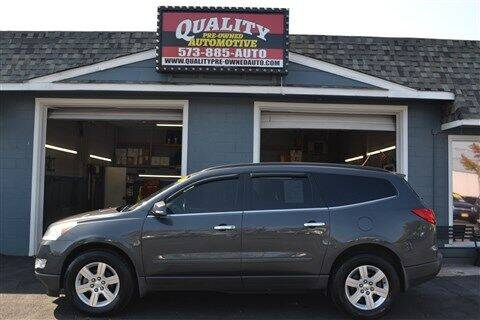2010 Chevrolet Traverse for sale at Quality Pre-Owned Automotive in Cuba MO