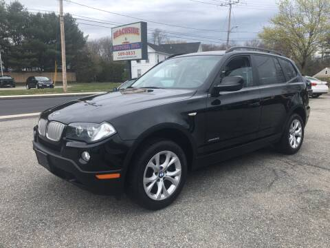 2010 BMW X3 for sale at Beachside Motors, Inc. in Ludlow MA