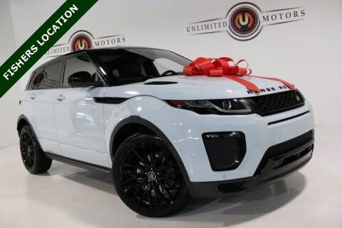 2017 Land Rover Range Rover Evoque for sale at Unlimited Motors in Fishers IN