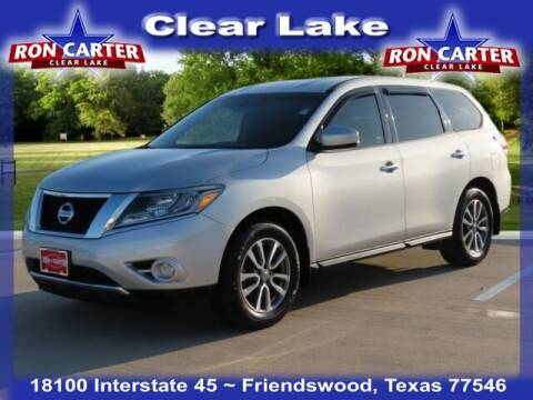 2014 Nissan Pathfinder for sale at Ron Carter  Clear Lake Used Cars in Houston TX