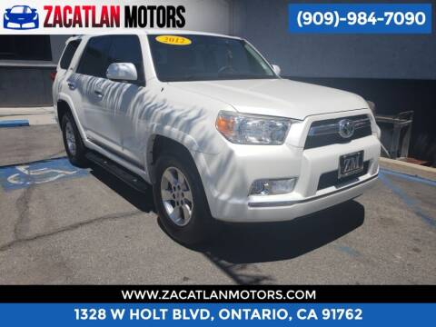 2012 Toyota 4Runner for sale at Ontario Auto Square in Ontario CA