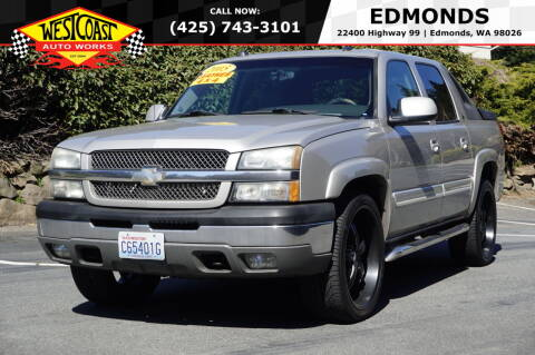 2005 Chevrolet Avalanche for sale at West Coast Auto Works in Edmonds WA