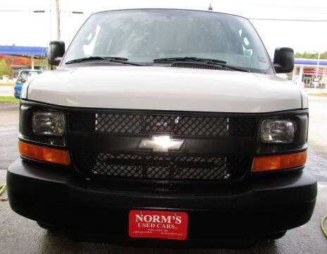 2016 Chevrolet Express Passenger for sale at NORM'S USED CARS INC - Trucks By Norm's in Wiscasset ME