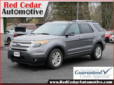 2014 Ford Explorer for sale at Red Cedar Automotive in Menomonie WI
