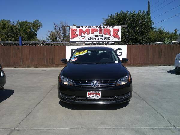 2012 Volkswagen Passat for sale at Empire Auto Sales in Modesto CA
