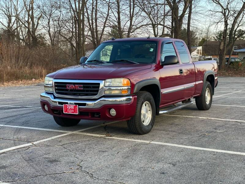 2004 GMC Sierra 1500 for sale at Hillcrest Motors in Derry NH