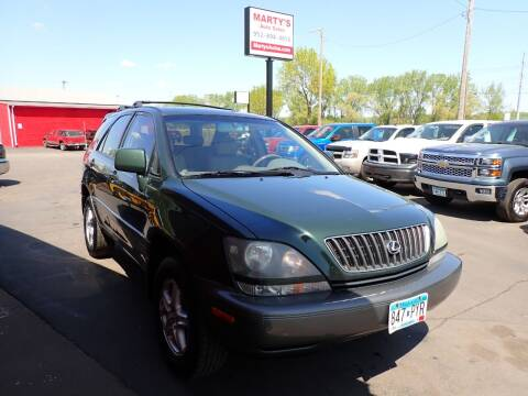 2000 Lexus RX 300 for sale at Marty's Auto Sales in Savage MN