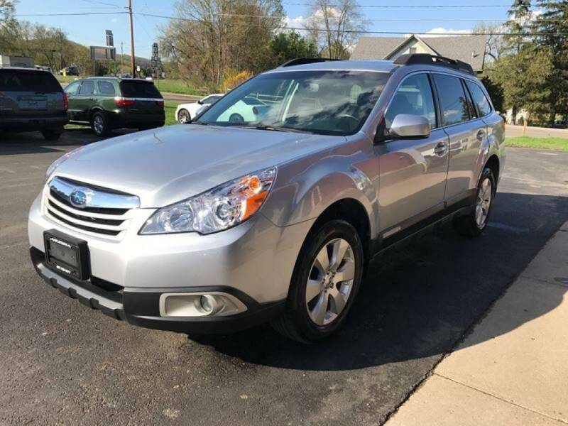 2012 Subaru Outback for sale at Pop's Automotive in Homer NY