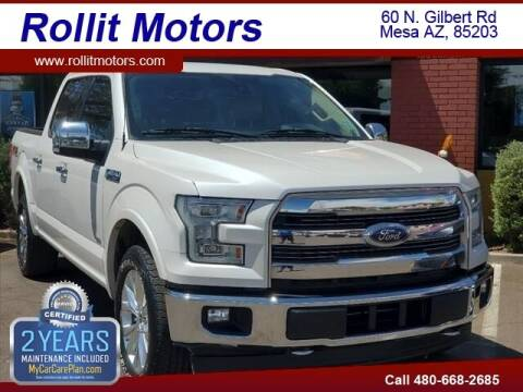 2017 Ford F-150 for sale at Rollit Motors in Mesa AZ
