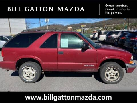 2000 Chevrolet Blazer for sale at Bill Gatton Used Cars - BILL GATTON ACURA MAZDA in Johnson City TN