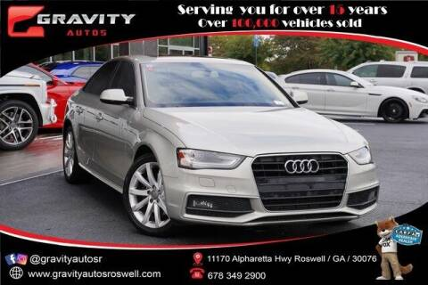 2014 Audi A4 for sale at Gravity Autos Roswell in Roswell GA