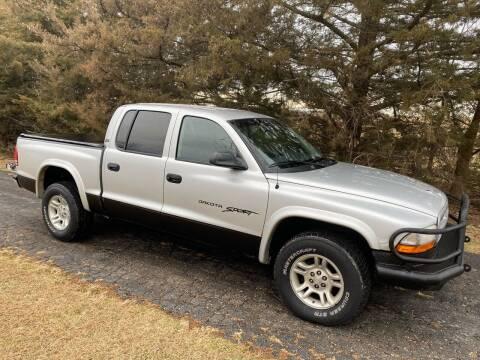 2001 Dodge Dakota for sale at Kansas Car Finder in Valley Falls KS