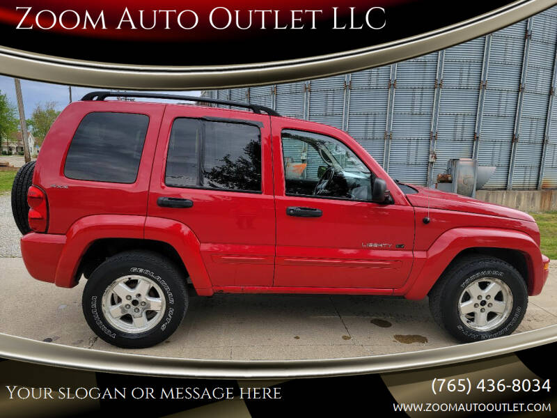 2002 Jeep Liberty for sale at Zoom Auto Outlet LLC in Thorntown IN