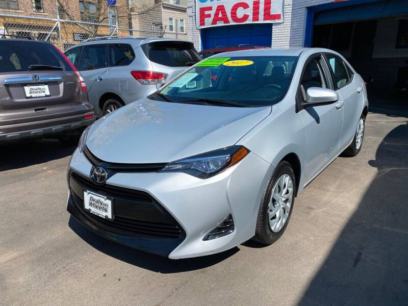 2017 Toyota Corolla for sale at DEALS ON WHEELS in Newark NJ