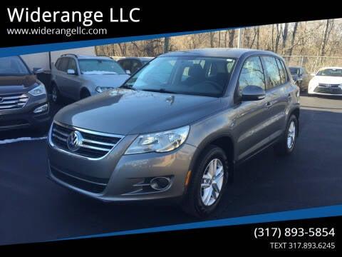 2011 Volkswagen Tiguan for sale at Widerange LLC in Greenwood IN