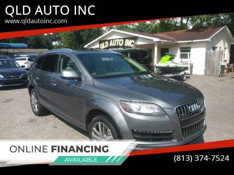 2013 Audi Q7 for sale at QLD AUTO INC in Tampa FL